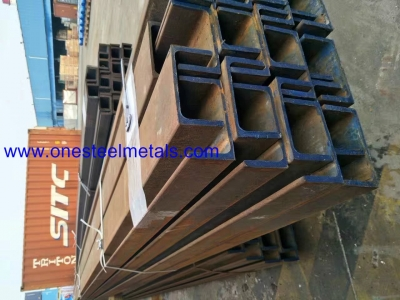 Parallel Flange Channels, PFC steel section